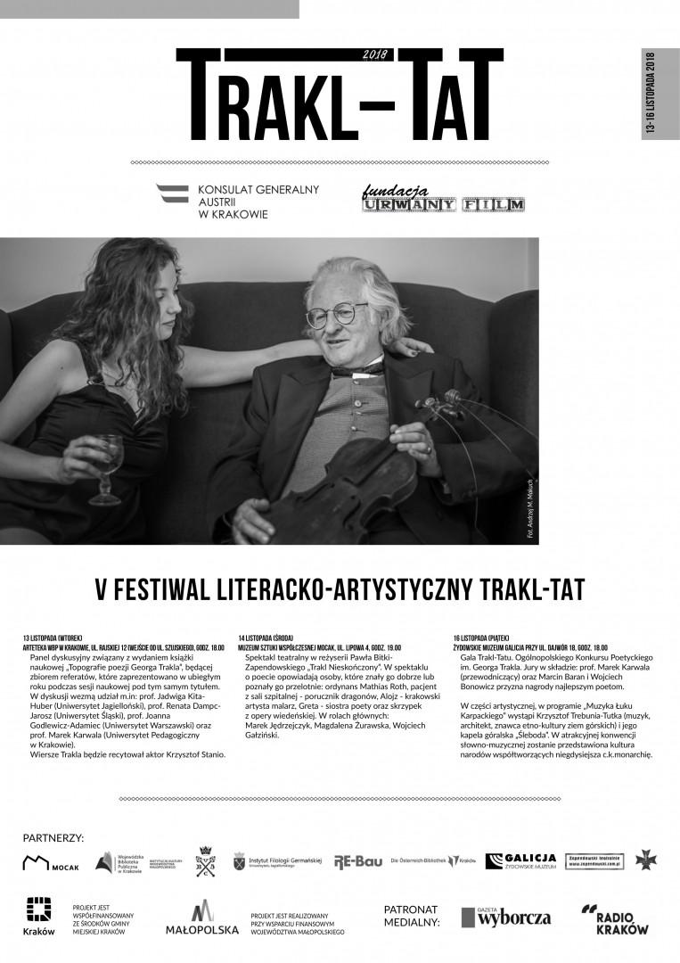TRAKL-TAT. Inspirations - Arts & Literature Festival