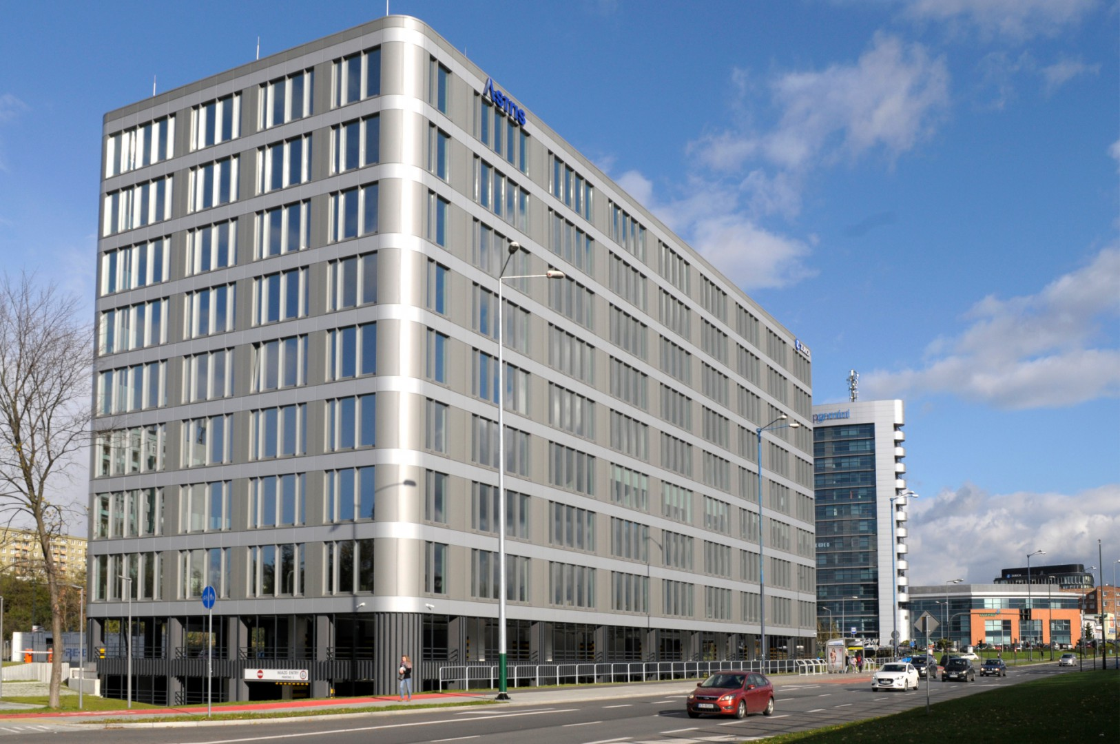 Commissioning of the Astris office building
